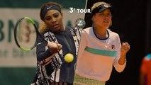 Roland-Garros 2019 : le résumé de Serena Williams - Sofia Kenin