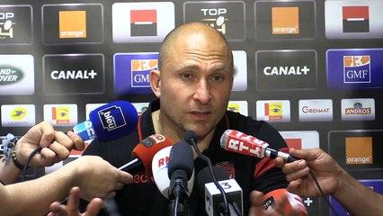 """Pierre Mignoni : """"On a rien gagné... mais c'est très bien !"""""""