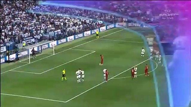Tottenham 0-[1] Liverpool - Salah penalty goal