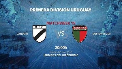 Pre match day between Danubio and Boston River Round 15 Apertura Uruguay