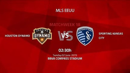 Pre match day between Houston Dynamo and Sporting Kansas City Round 18 MLS
