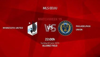 Pre match day between Minnesota United and Philadelphia Union Round 19 MLS