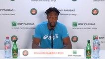 """Roland-Garros - Monfils : """"Thiem ? Un gros match comme je les aime"""""""