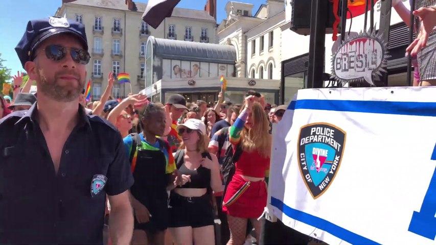 NANTES     LGBT Marche des Fiertes 2019 - Nantes Bretagne Tele