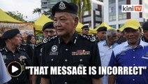 IGP denies viral message about Jho Low's arrest