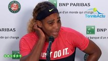 """Roland-Garros 2019 - Serena Williams : """"Je ne m'attendais pas à aller seulement jusqu'au 3e tour"""""""