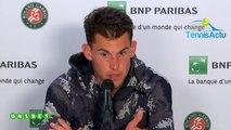 """Roland-Garros 2019 - Dominic Thiem :  """"C'est mon meilleur match à Roland-Garros jusqu'ici"""""""