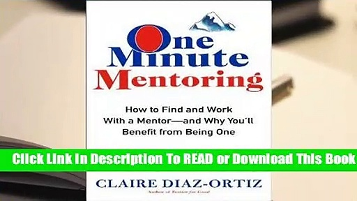 [Read] One Minute Mentoring  For Free