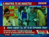 Bihar cabinet expansion: 8 JDU leaders take oath as ministers in Nitish Kumar-led Bihar government