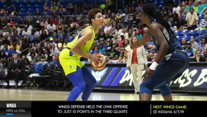 Minnesota Lynx vs Dallas Wings Recap | MIN: Damiris Dantas 20 Pts, DAL: Kayla Thornton 12 Pts
