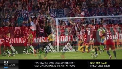 FC Dallas Defeats Seattle Sounders FC, 2-1