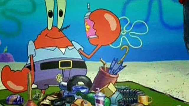 SpongeBob SquarePants S03E06 One Krabs Trash