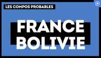 France-Bolivie : les compositions probables