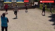 Pétanque : Championnats Territoriaux Rhône-Alpes 2019 à Chabeuil - Quart individuel BRUN vs DUMONT