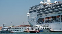 Cruise ship collides with Venice tourist boat, injuring four people
