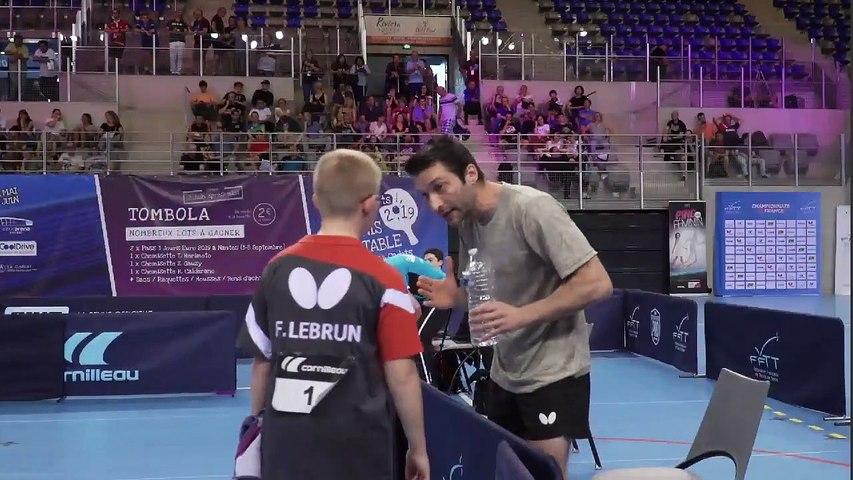 Ch. France 2019 - Finale Cadets - Félix LEBRUN / Thibault PORET