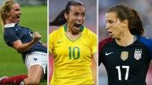 Confira quem são as principais estrelas da Copa do Mundo de futebol feminino