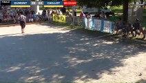 Pétanque : Championnats Territoriaux Rhône-Alpes 2019 à Chabeuil - Début Finale individuel DUMONT vs CAILLOT
