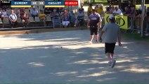 Pétanque : Championnats Territoriaux Rhône-Alpes 2019 à Chabeuil - Fin Finale individuel DUMONT vs CAILLOT