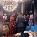 Youssou Ndour en compagnie d'Alicia Keys et Naomi Campbell