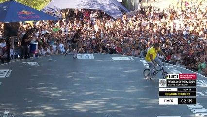 Dominik Nekolny   1st place - UCI BMX Flatland World Cup Final   FISE Montpellier 2019