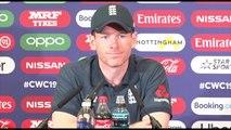 England's Eoin Morgan pre Pakistan