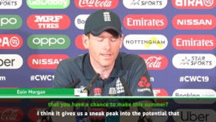 Morgan believes Stokes' wonder catch can help cricket exposure