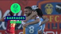 Gazélec FC Ajaccio - Le Mans FC (0-2)  - Résumé - (GFCA-LEMANS) / 2018-19