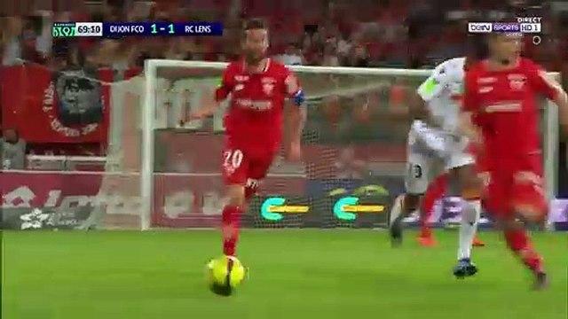 Dijon [2]-1 Lens - Saïd goal after horrible mistake from the keeper