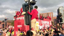 More coverage of Liverpool's Champions League parade