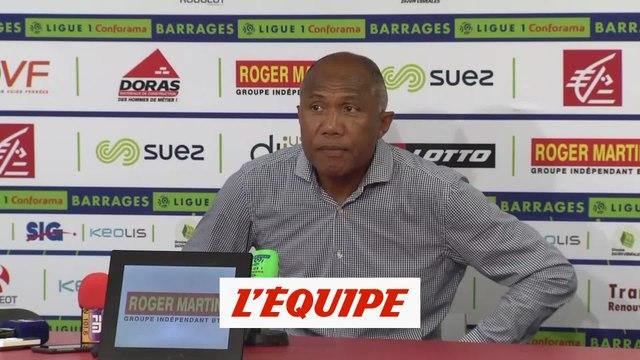 Kombouaré «Dans la vie, on a toujours ce que l'on mérite» - Foot - Barrages L1-L2 - Dijon