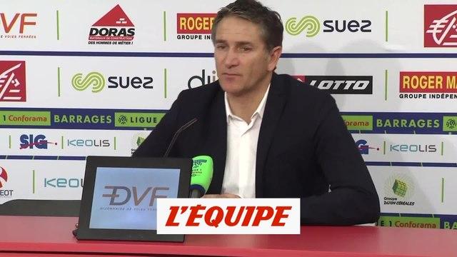 Montanier «Cette saison, nous aurons tout connu» - Foot - Barrages L1-L2 - Lens