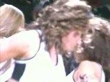 NBA BASKETBALL - Dwyane Wade Dunks On Tim Duncan