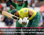 None of us are playing to our potential - du Plessis