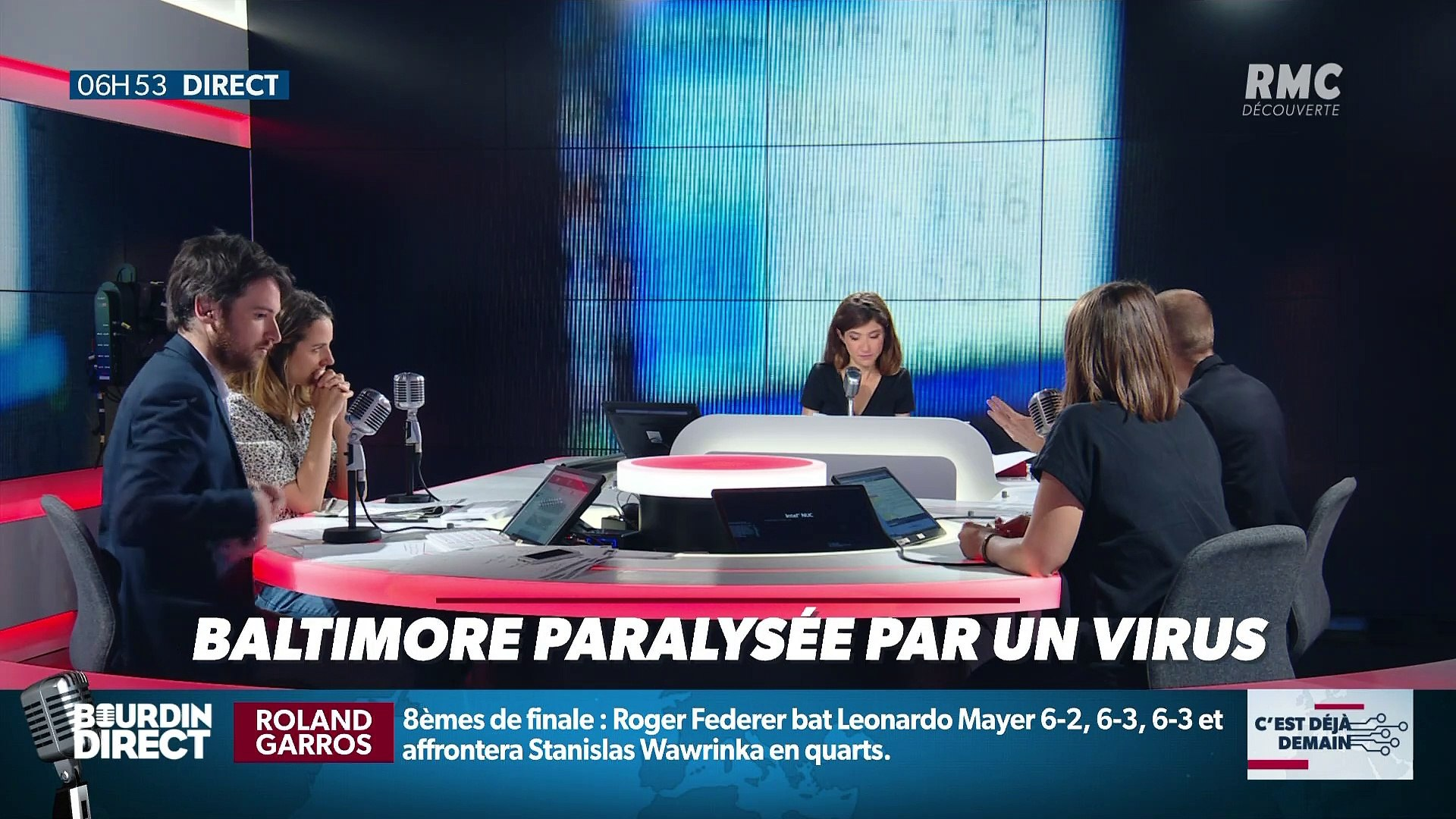 La chronique d'Anthony Morel : Baltimore paralysée par un virus - 03/06