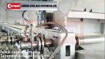 consol steel belt cooler granulator Sulphur Granulation
