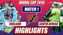 England vs South Africa • ICC Cricket World cup 2019 - Full Highlights