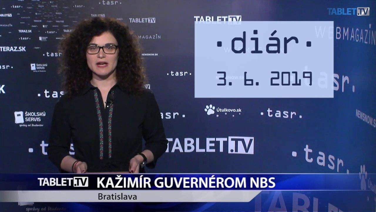 DIÁR: Peter Kažimír od dnes guvernérom NBS