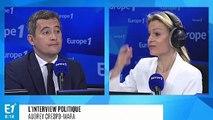 """Gérald Darmanin, """"Laurent Wauquiez s'est comporté en homme sectaire"""""""