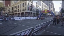 Coulthard demos Red Bull F1 to South African crowd