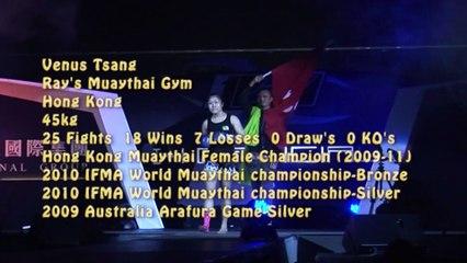 MMC 2013 ex muaythia 泰拳表演赛第二场