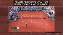 L'énorme craquage de Benoît Paire à Roland-Garros, mythique !