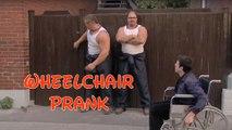 Wheelchair prank