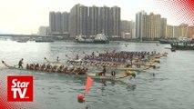 Filipino maids' dragon boat team makes a splash in Hong Kong