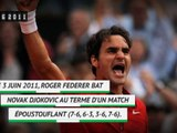 Il y a 8 ans - Et Federer claqua la porte à Djokovic !
