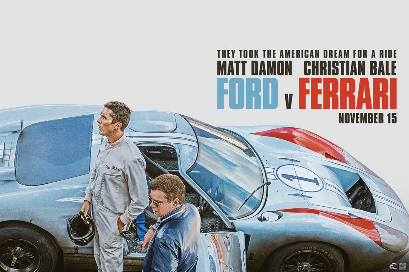 Ford V Ferrari Trailer 2019 Video Dailymotion