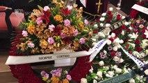 Funeral of ex-Arsenal striker Jose Antonio Reyes takes place in Seville