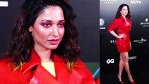 Tamannaah Bhatia attends GQ Best Dressed Awards;Watch video | FilmiBeat