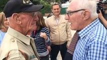 Le fils du maire de Sainte-Mère-Église en 1944 rend hommage au vétéran Tom Rice