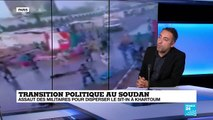 """Soudan : la contestation dit couper """"tout contact"""" avec les militaires"""